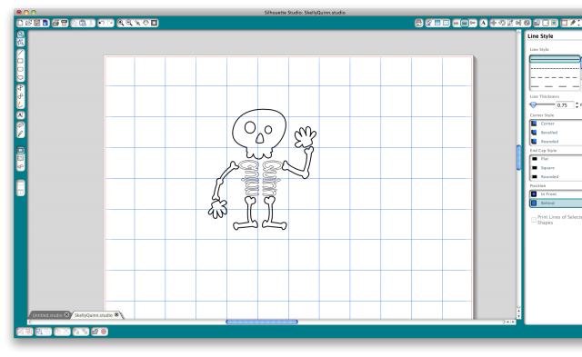 Screen shot skelly with ribs
