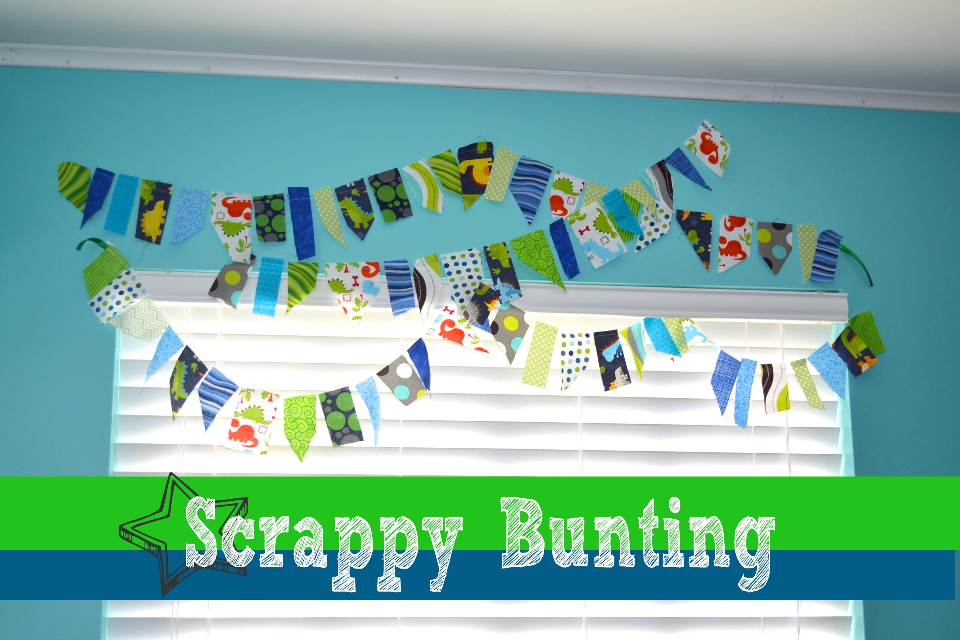 Scrappy Bunting