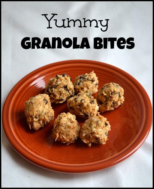 yummy granola bites