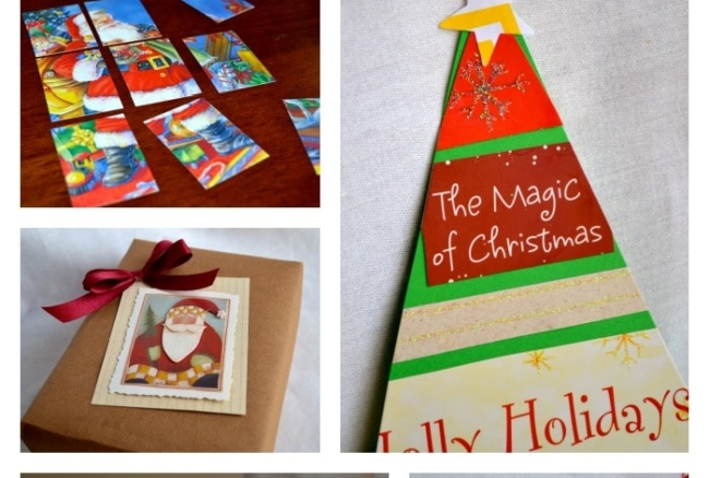 Getting Crafty with Christmas Cards