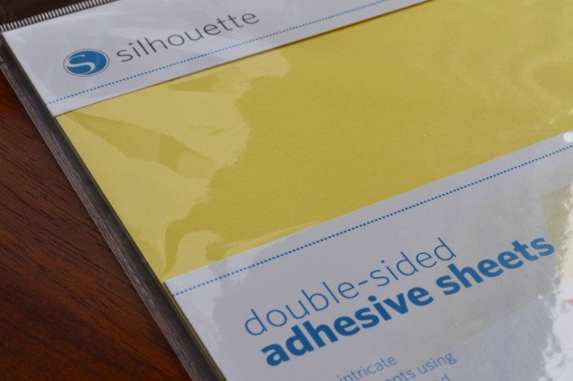 double-sided adhesive sheets for glitter