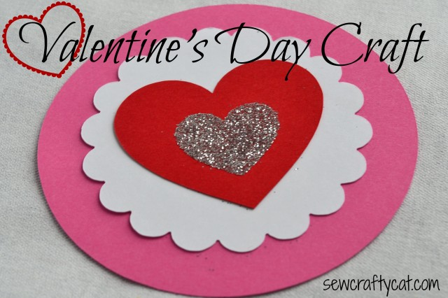 Valentine's Day Paper Craft