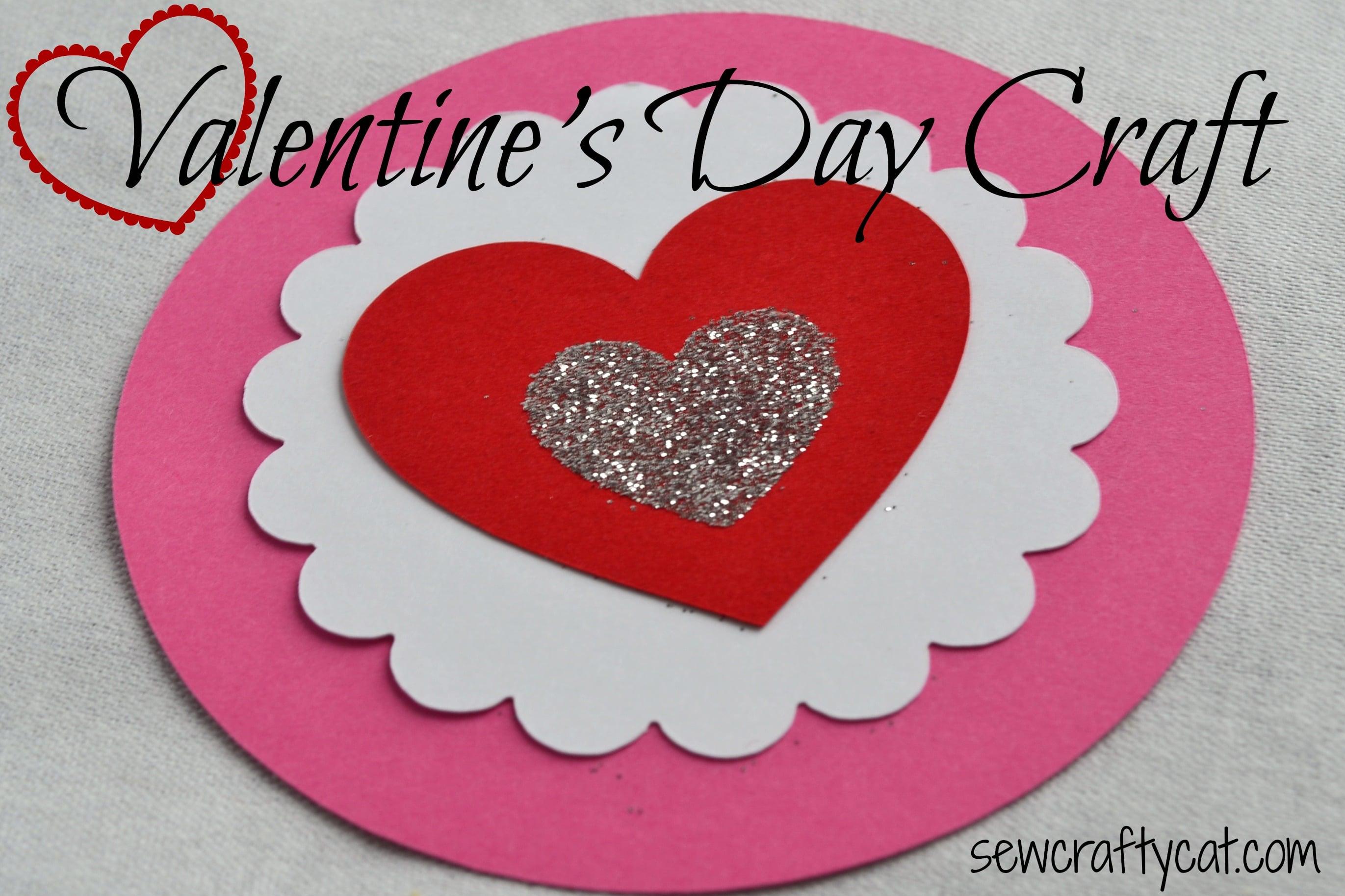 Valentineu0027s Day Paper Craft
