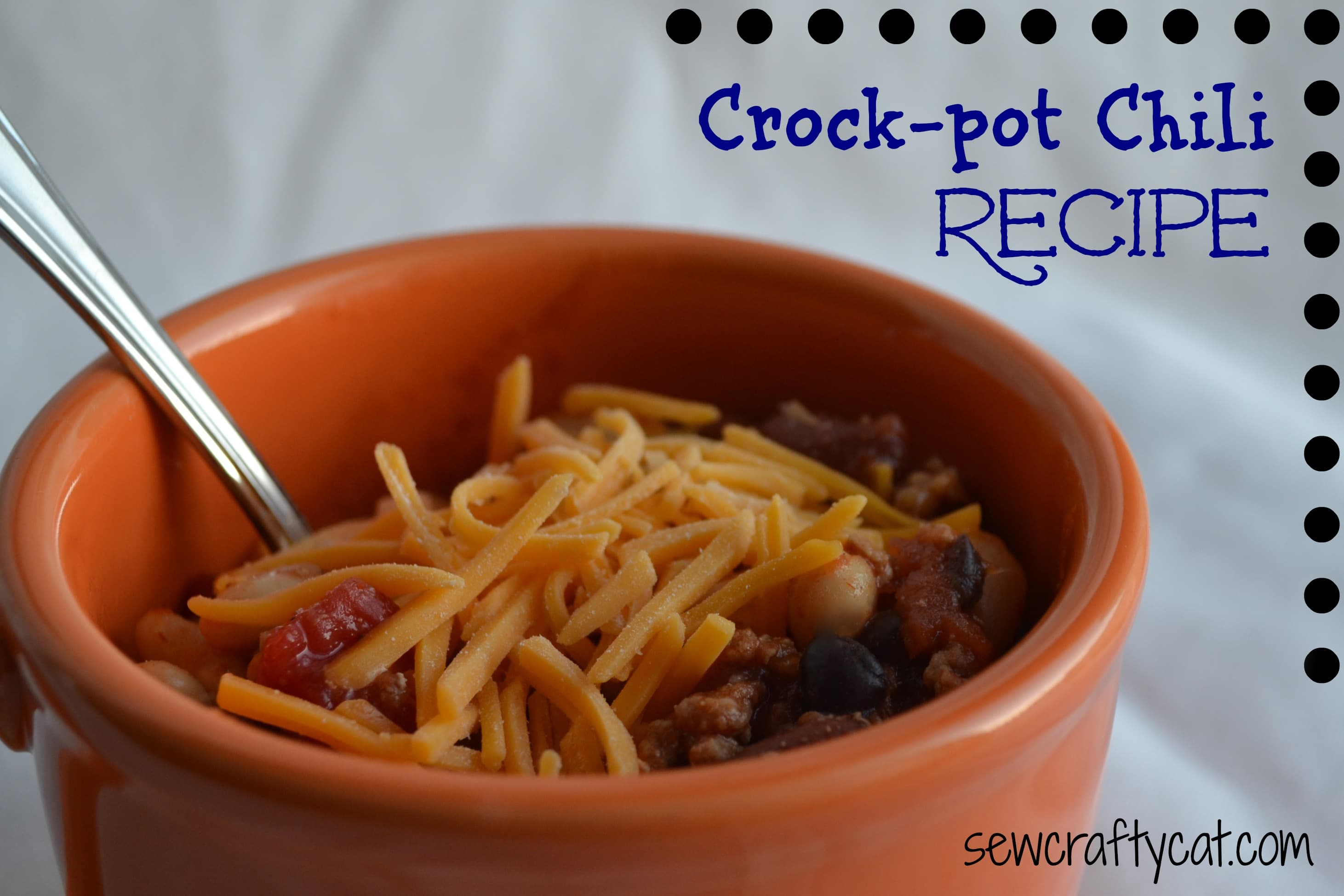 Crock-Pot Chili - Typically Simple