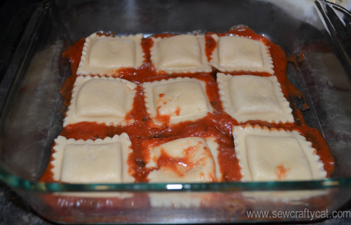 3 ingredient Lasagna