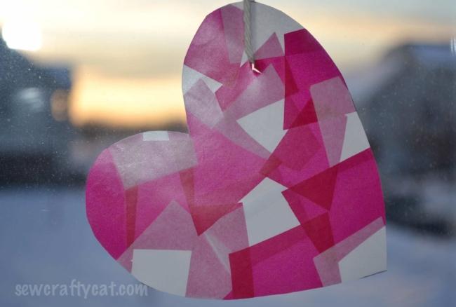 Valentine's Day Sun Catcher