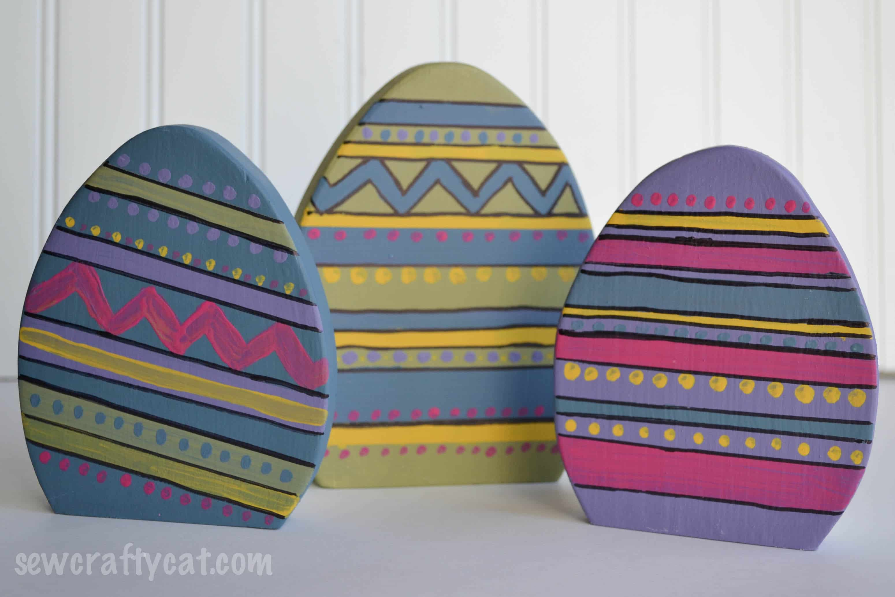 DIY Project – Wood Easter Eggs