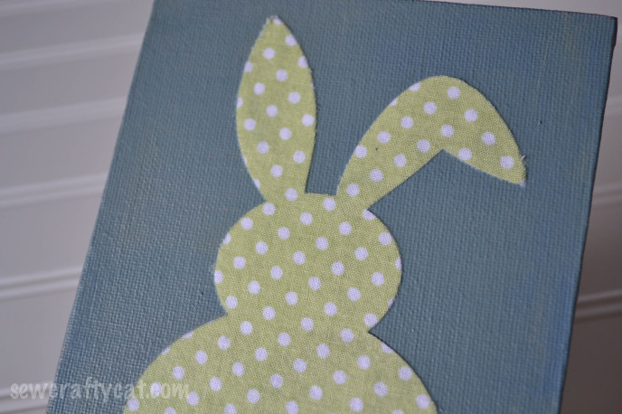 Easter Bunny Canvas
