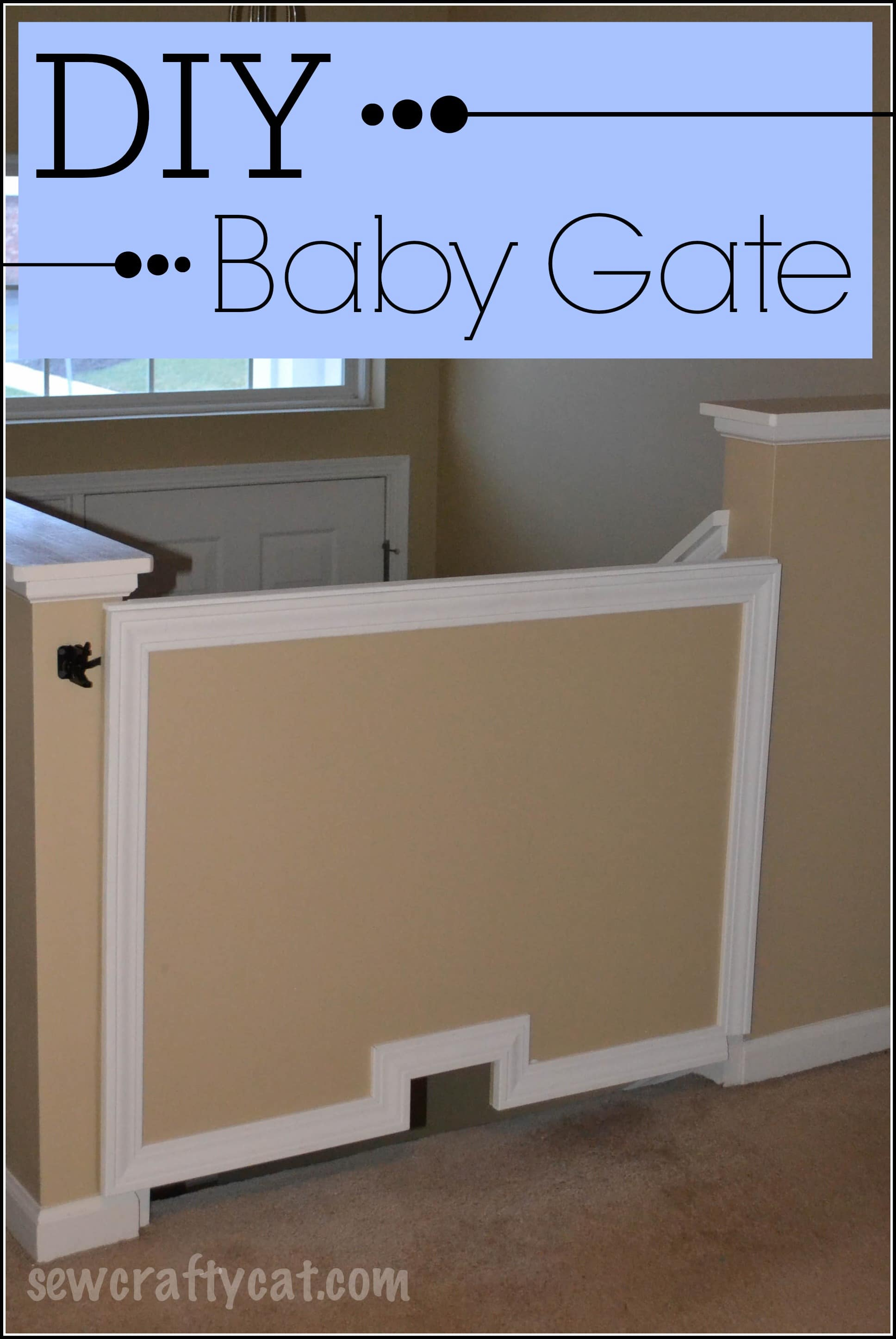 Diy Baby Gate Typically Simple