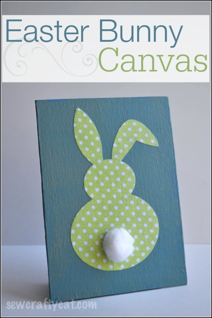 Easter Bunny Canvas Typically Simple