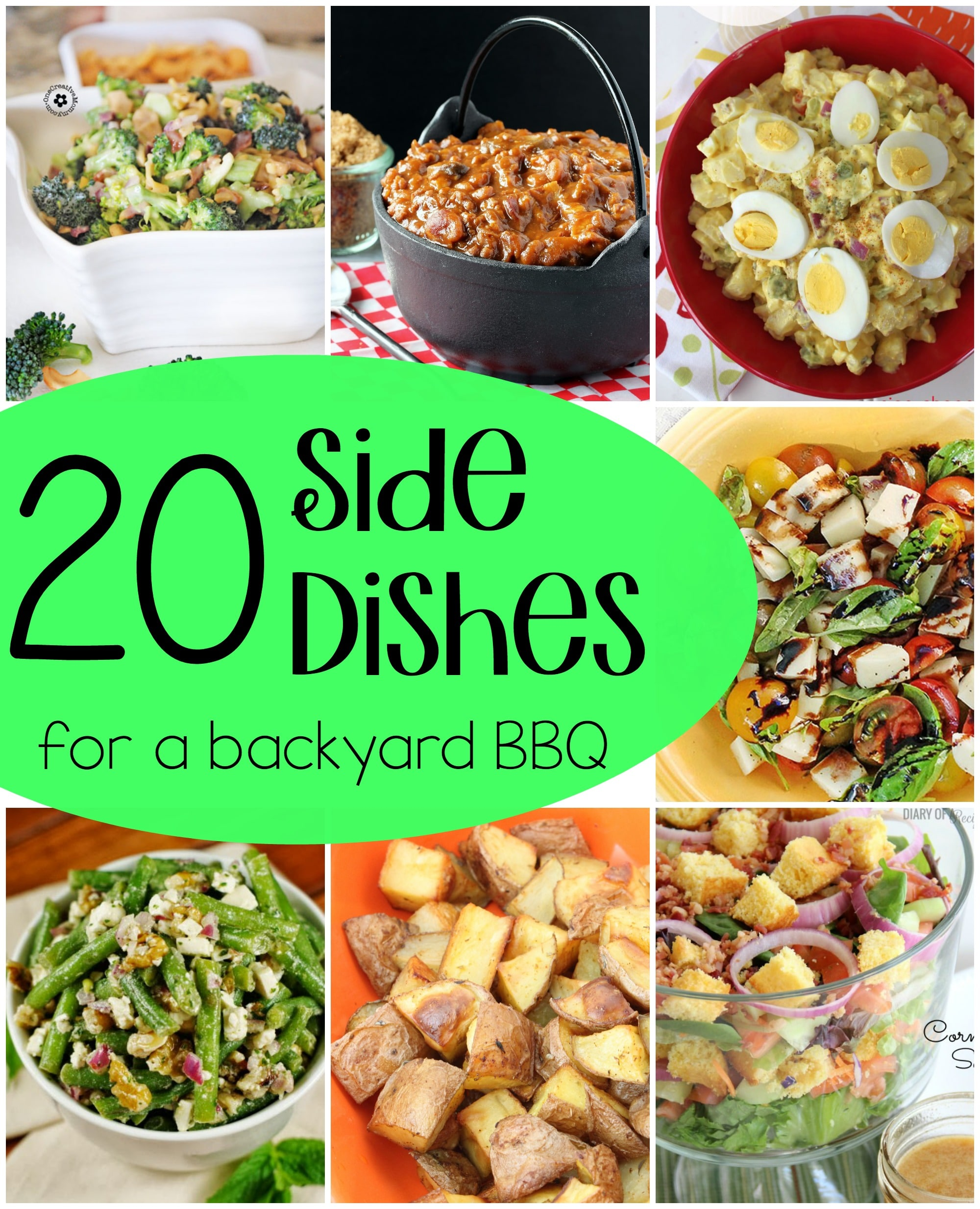 Bbq Side Dish Recipes: 20 Side Dishes For A BBQ {roundup}