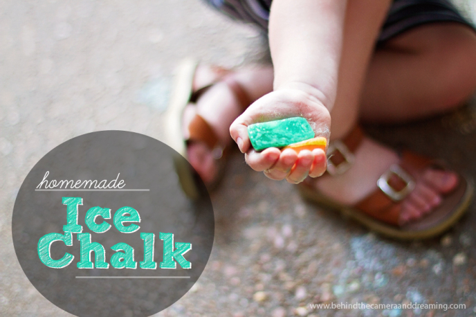 Summer Kids' Craft - Ice Chalk