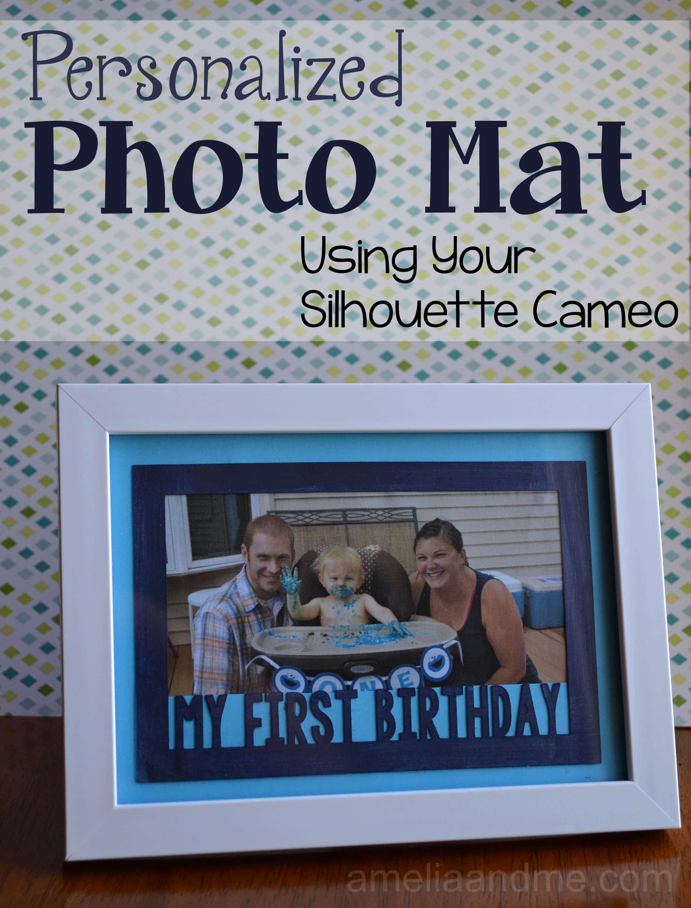 DIY Personalized Photo Mats
