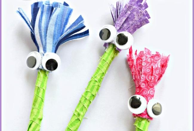Googly Eyes Pen Craft