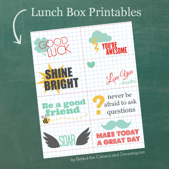 Lunch Box Printable