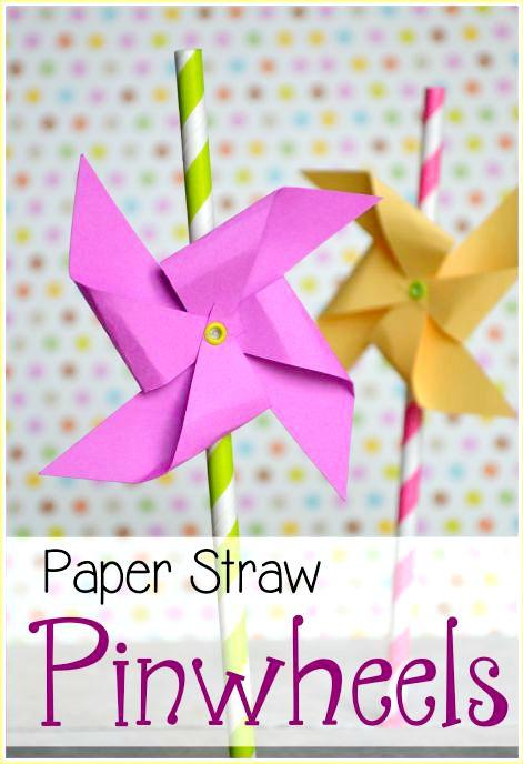 PaperStrawPinwheels