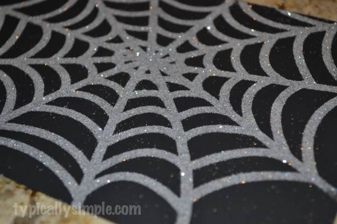 Halloween Framed Spiderweb-4