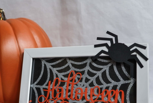 A fun Halloween project to make using your Silhouette Cameo