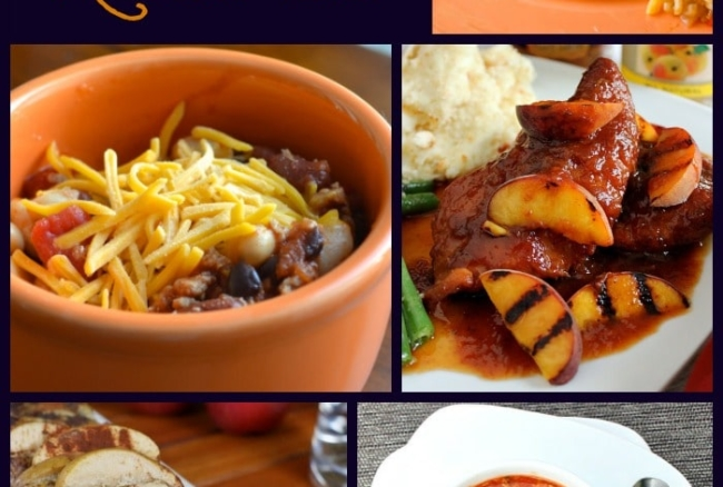 A round-up of 18 delicious slow cooker recipes, perfect for crock pot cooking in the fall and winter!