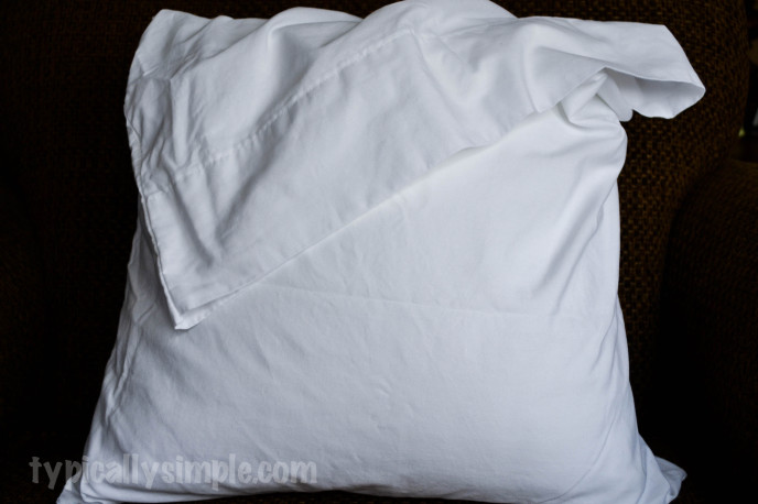 No Sew Pillow Cover-1