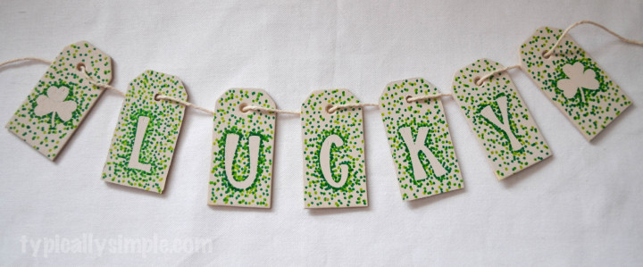 Sharpie Dotted Lucky Banner-12