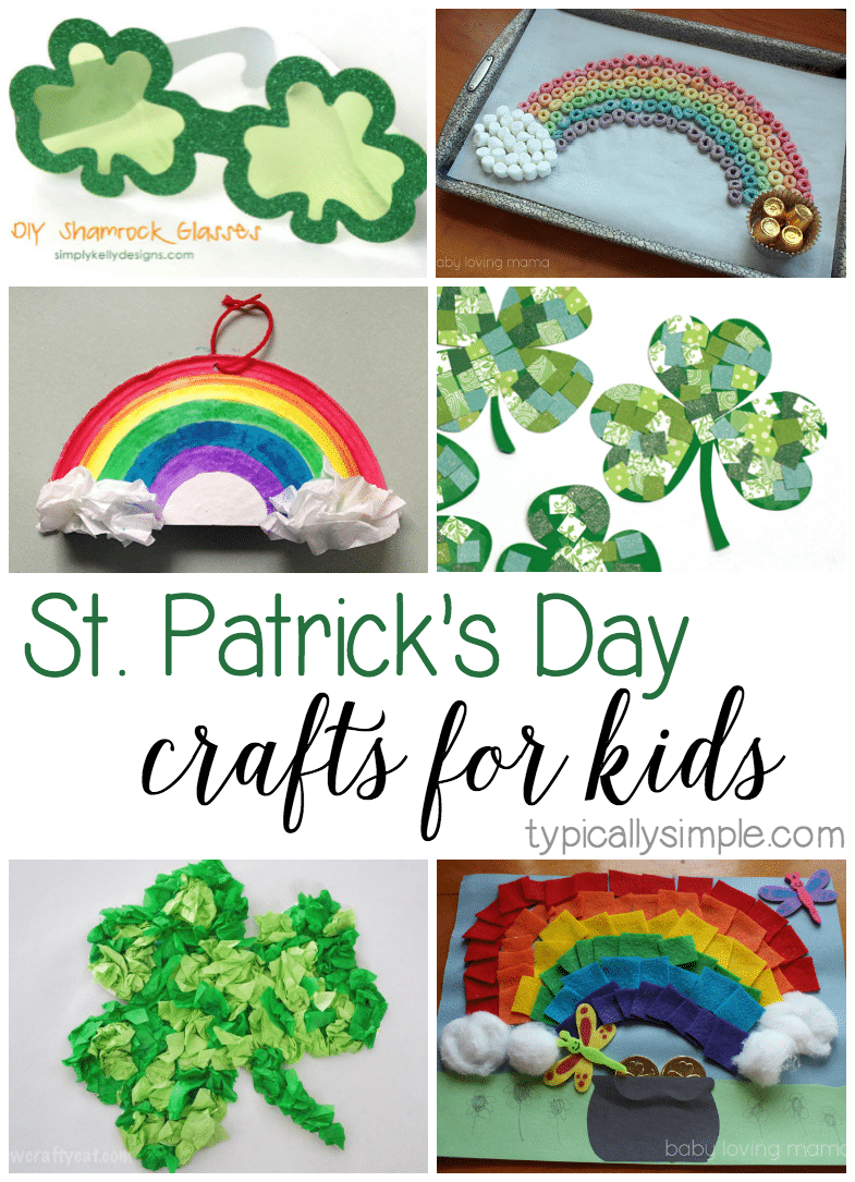 St Patricks Day Crafts Part - 21: A Round-up Of 25+ Craft Ideas For Kids To Make For St.