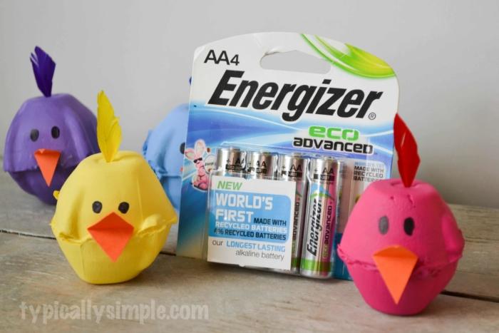 Egg Carton Chicks