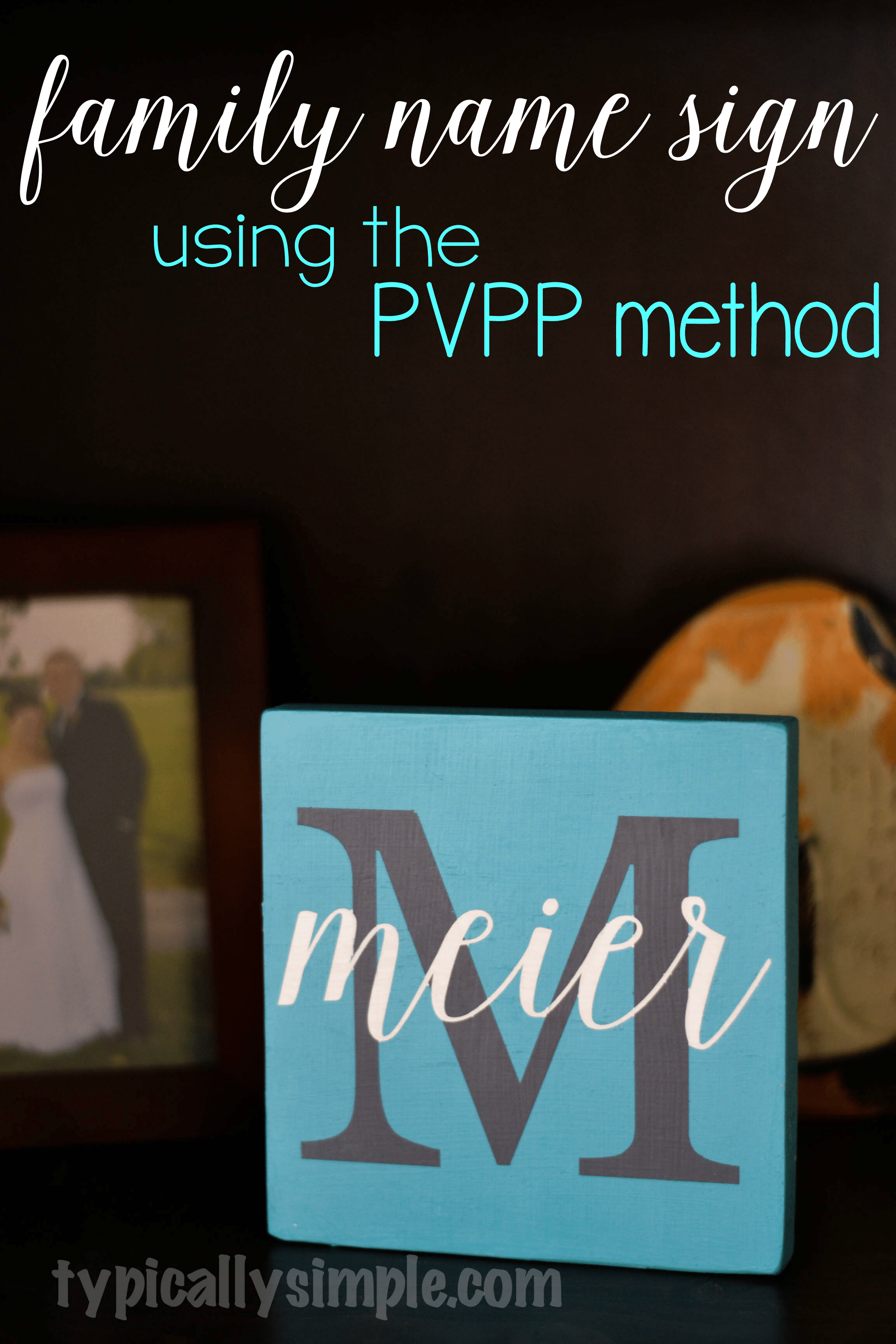 Using a Vinyl Stencil to Paint - Typically Simple