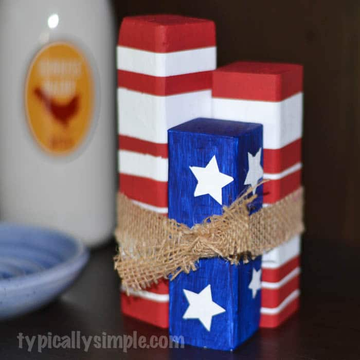 Patriotic Scrap Wood Project