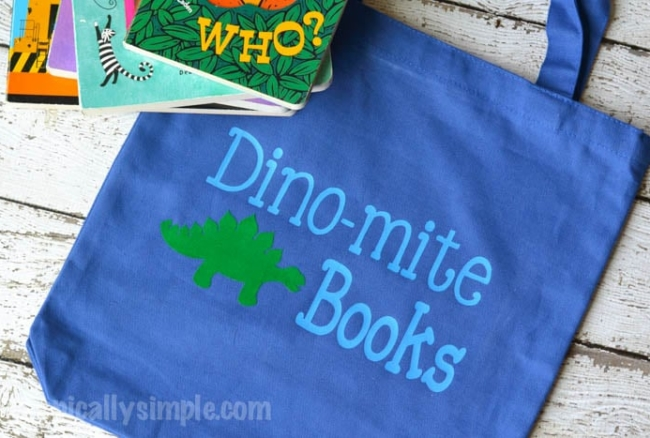 Dino-mite Libary Book Bag