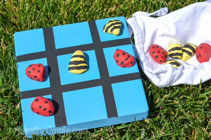 Outdoor Tic Tac Toe – DIY Project for Kids