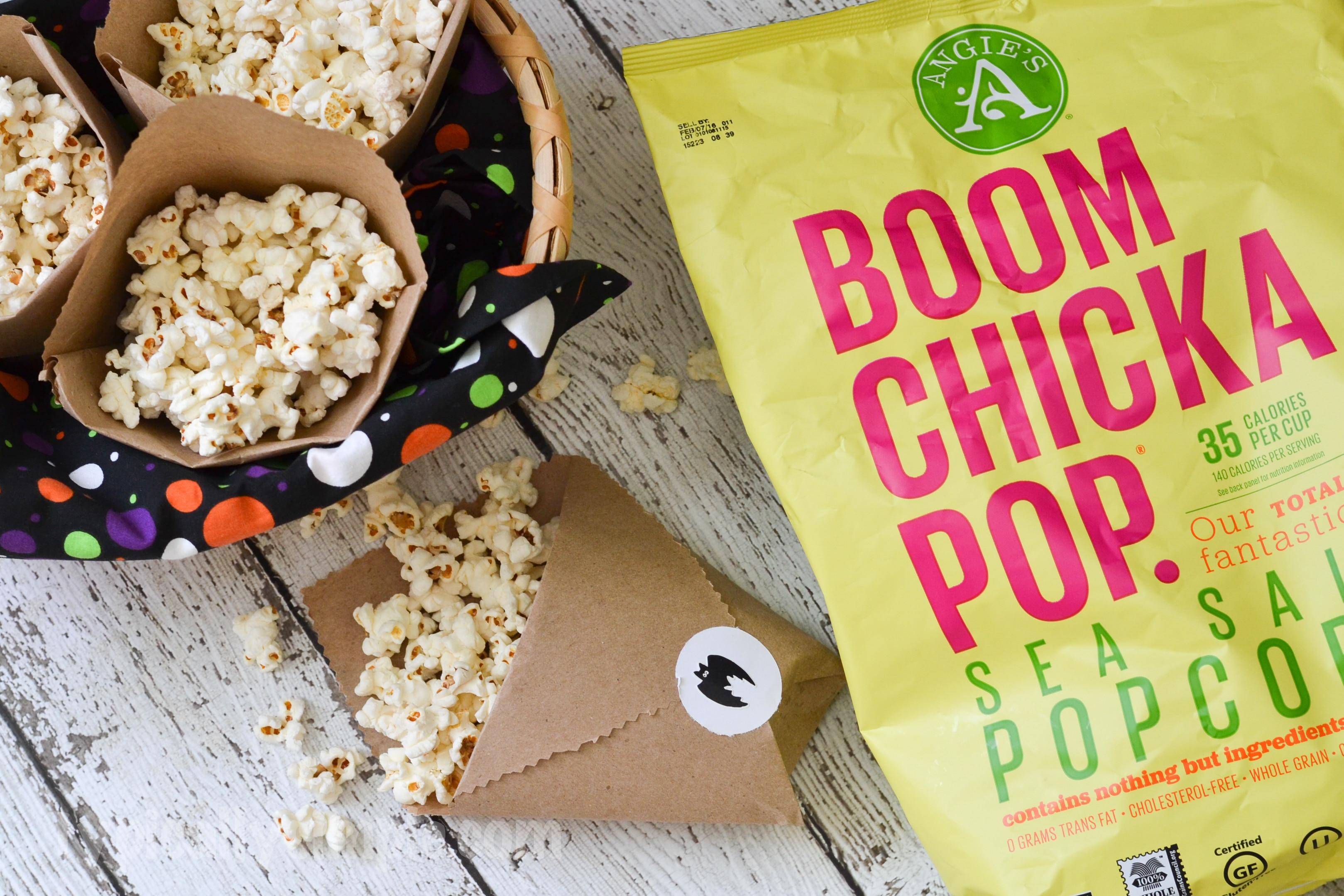 Kraft Paper Popcorn Bags