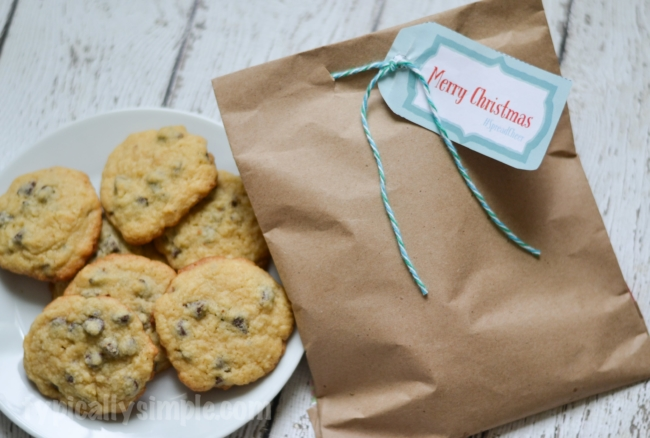 #SpreadCheer DIY Cookie Bag