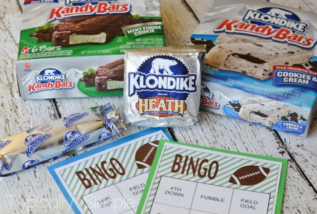 Football Bingo with Klondike {Free Printable}