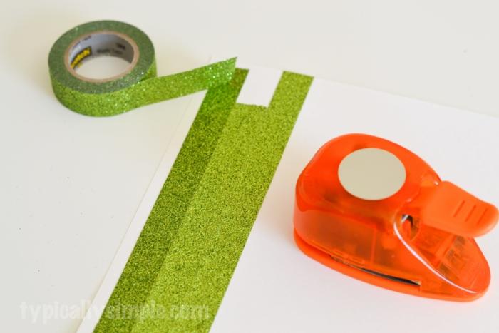 Washi Tape Christmas Tree-3