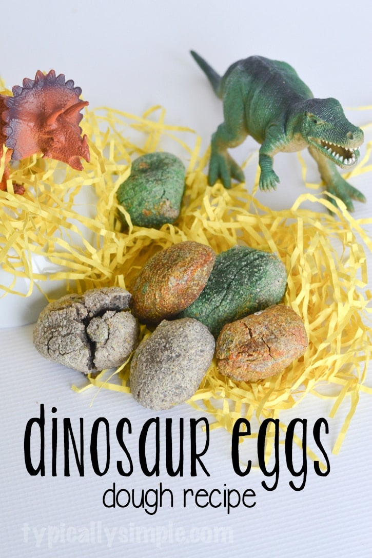 Dinosaur Eggs Dough Recipe