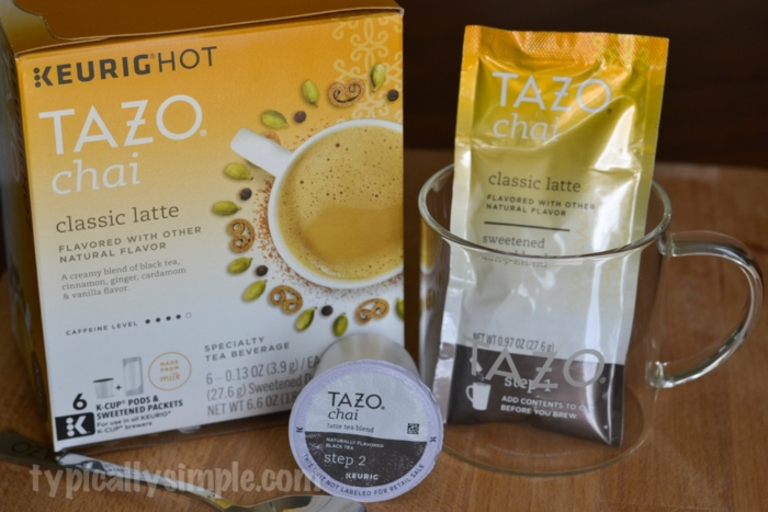 TAZO Chai Latte at home