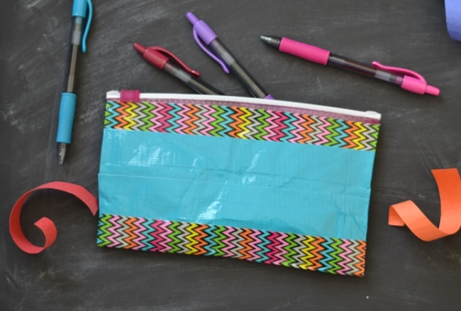 Duct Tape Pen Pouches