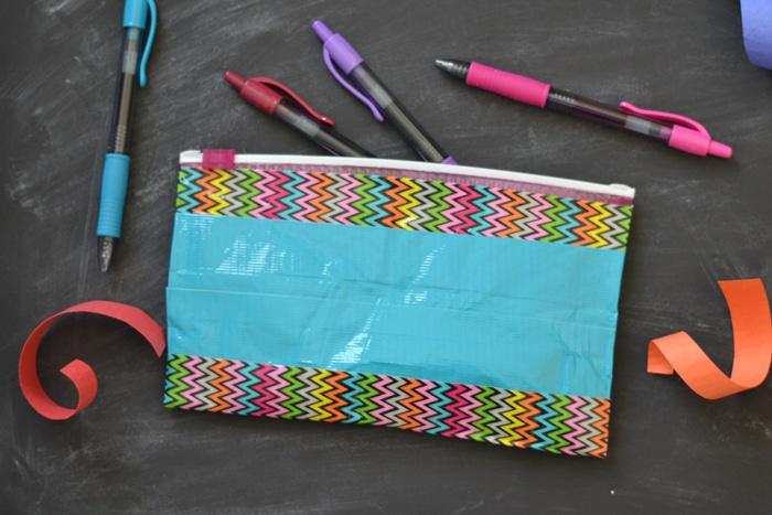 Duct Tape Pen Pouches