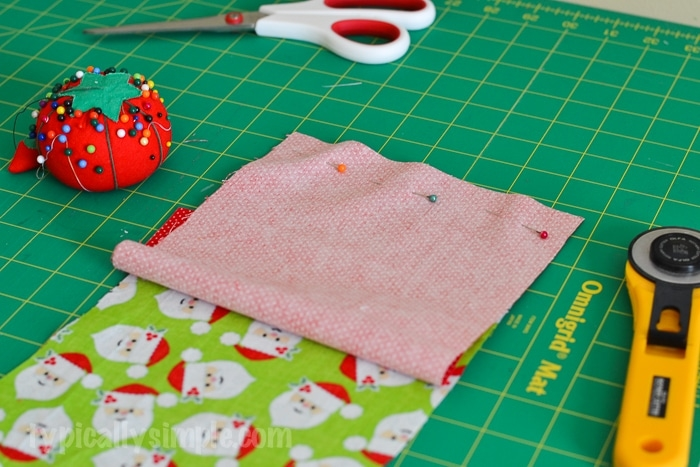 Christmas Stocking Sewing Tutorial