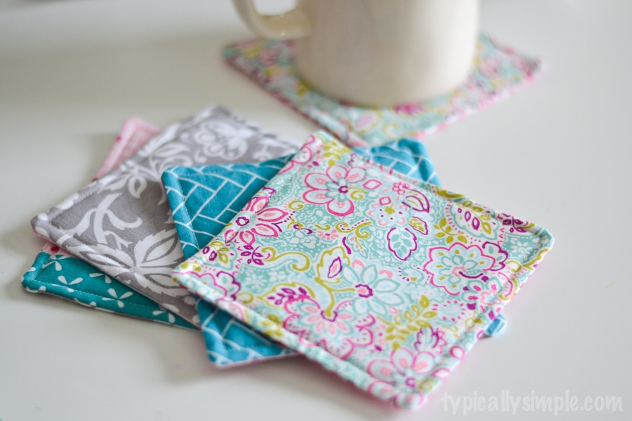 Fabric Mug Rug A Quick Sewing Tutorial Typically Simple