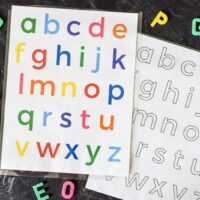 Alphabet Activities: Lowercase Letters Printable