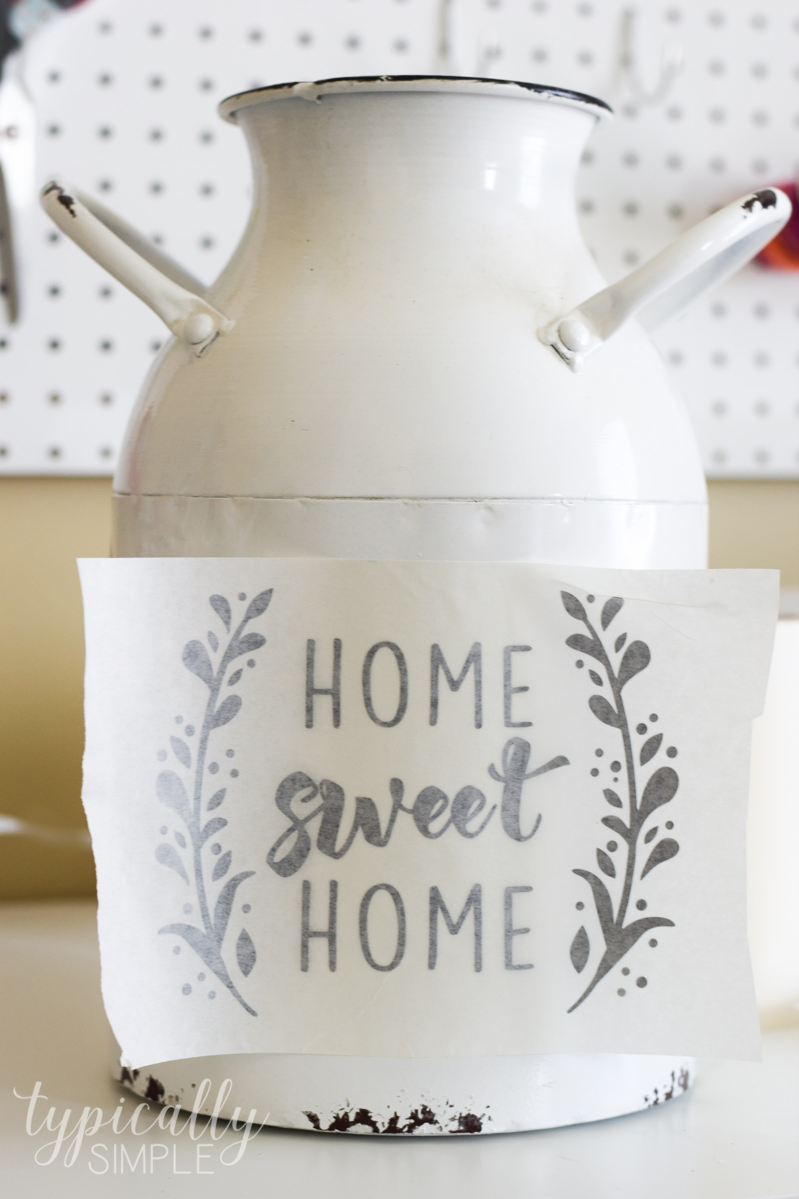 Cricut Project Inspiration: Using Vinyl - Typically Simple