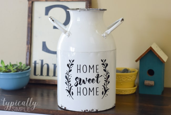Cricut Project Inspiration: Using Vinyl