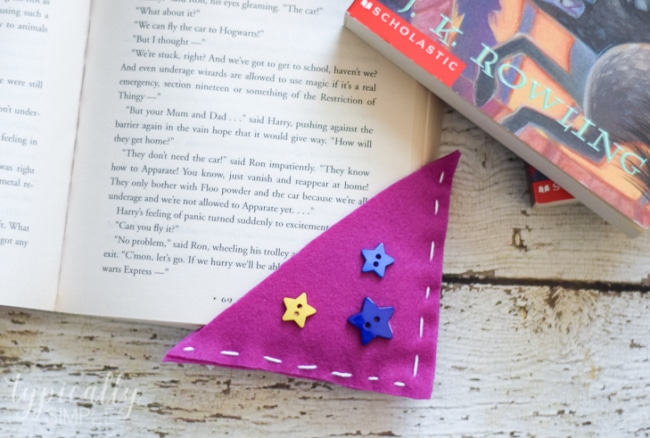 Corner Bookmarks Felt Craft