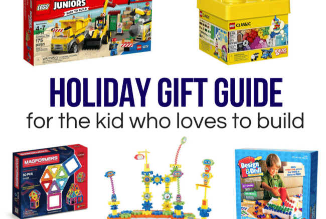Holiday Gift Guide: for the kid who loves to build
