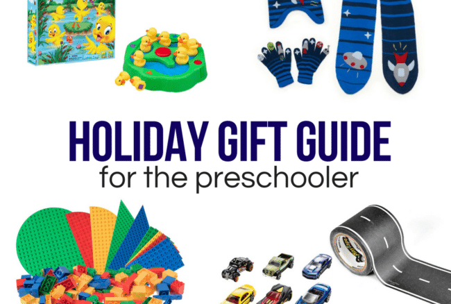 Holiday Gift Guide: For the Preschooler