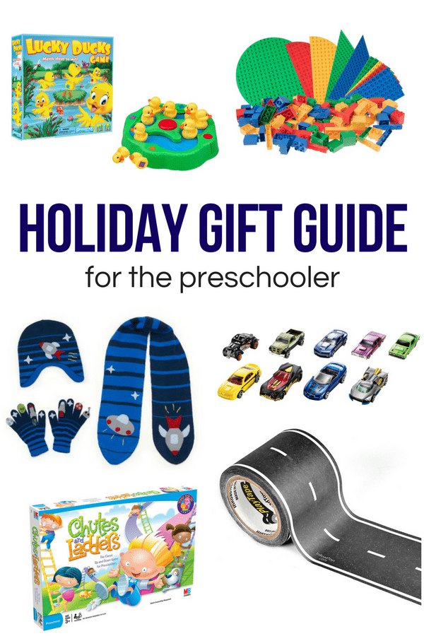 With preschool and kindergarten aged kiddos in mind, this holiday gift guide has ideas for the car lovers, space lovers, and board game enthusiasts!