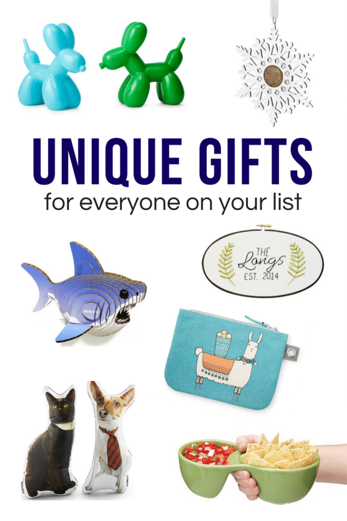 "There's always seems to be one or two people on your Christmas list that ""have everything"" or are difficult to shop for. These unique gifts from UncommonGoods.com will be sure to impress everyone on your shopping list this year! #ad"
