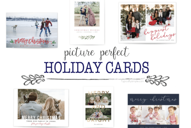 Picture Perfect Holiday Cards